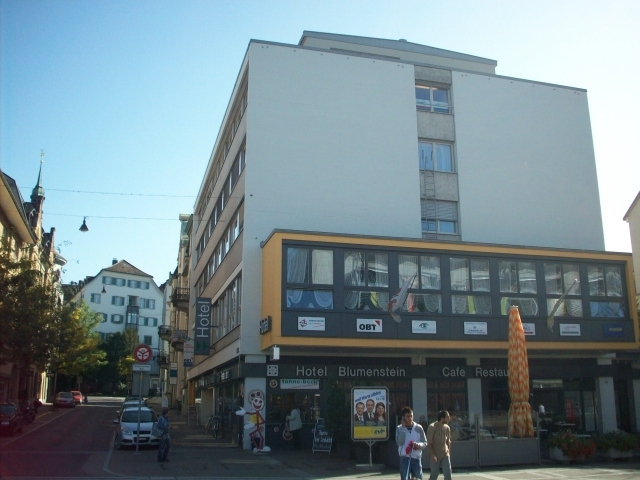 Hotel Blumenstein in Frauenfeld